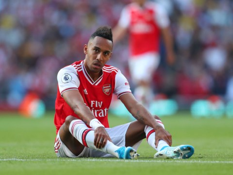 Pierre-Emerick Aubameyang rates Arsenal's front three after starting together in north London derby