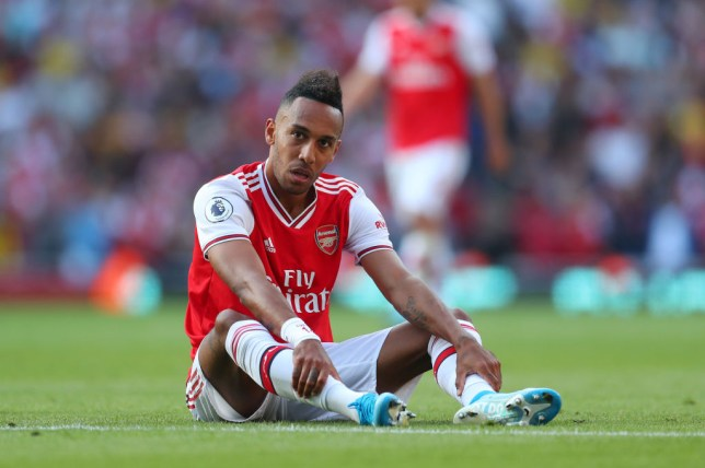 Aubameyang rates Arsenal's front three after starting together for first time