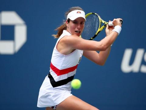Johanna Konta fights back against world No. 3 Karolina Pliskova to book US Open quarter-finals debut