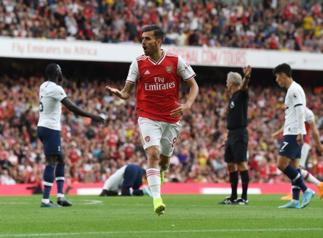 Dani Ceballos played a key role in Arsenal's comeback against Tottenham