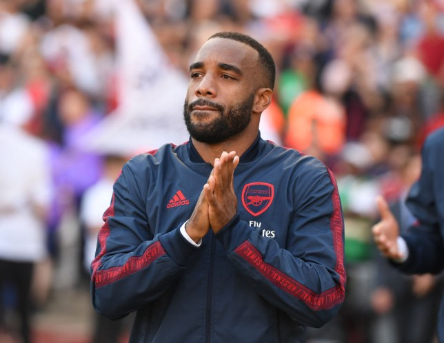 Arsenal striker Alexandre Lacazette will be sidelined for 'several weeks' with an ankle problem