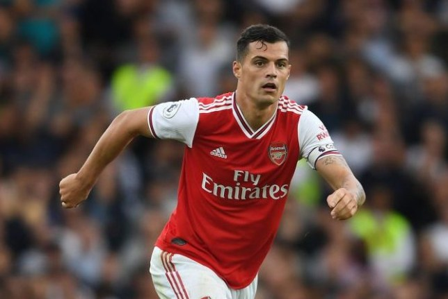 Granit Xhaka sends message to Arsenal fans after giving away penalty in north London derby