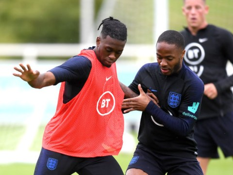 Manchester United defender Aaron Wan-Bissaka withdraws from England squad with a back injury