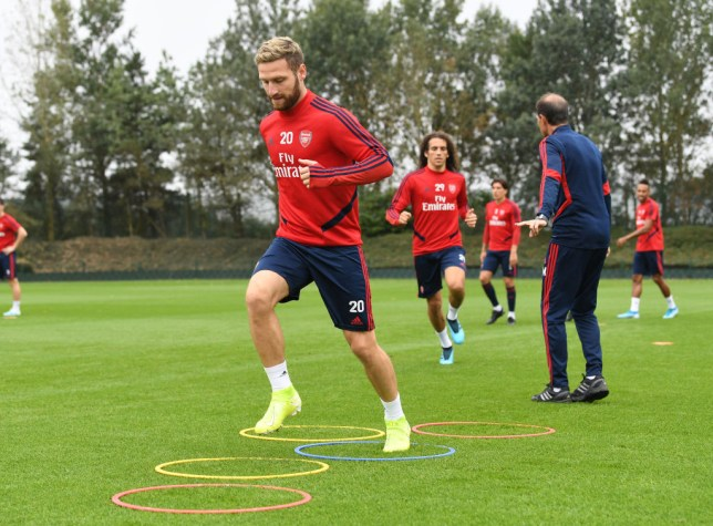 Shkodran Mustafi turned down the chance to leave Arsenal