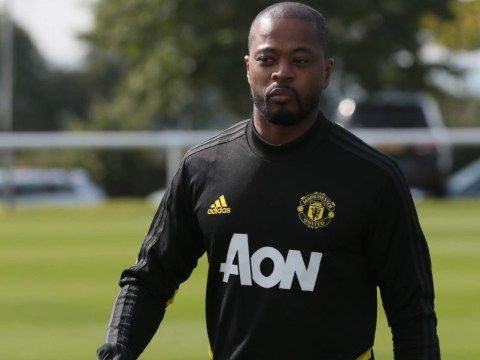 Patrice Evra 'shocked' by low standards at Manchester United training ground