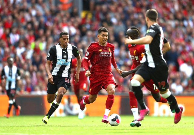 Roberto Firmino impressed off the bench for Liverpool in their victory over Newcastle in the Premier League