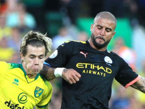 Tony Cascarino blasts Kyle Walker after Manchester City defender's horror show against Norwich