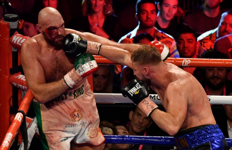 Otto Wallin found his way through Tyson Fury's defence