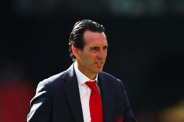 Unai Emery is under pressure after presiding over an inconsistent start to the new season