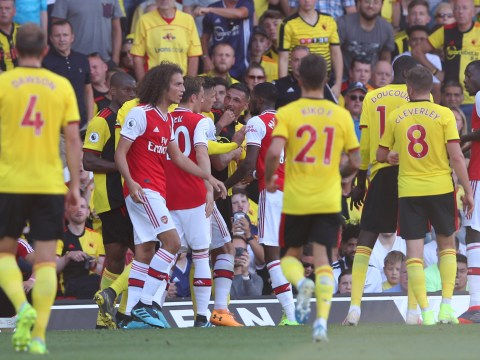 Should Matteo Guendouzi have been sent off after tempers flared during Arsenal vs Watford?