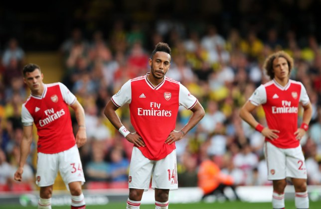 Arsenal were held to a 2-2 draw by Watford