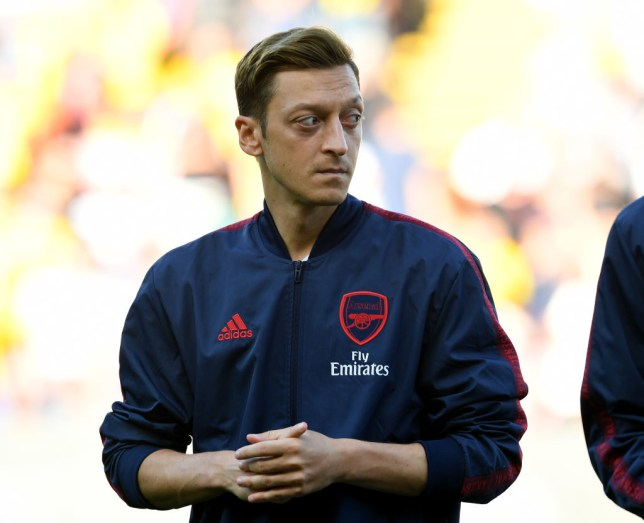 Mesut Ozil has started just one league game this term