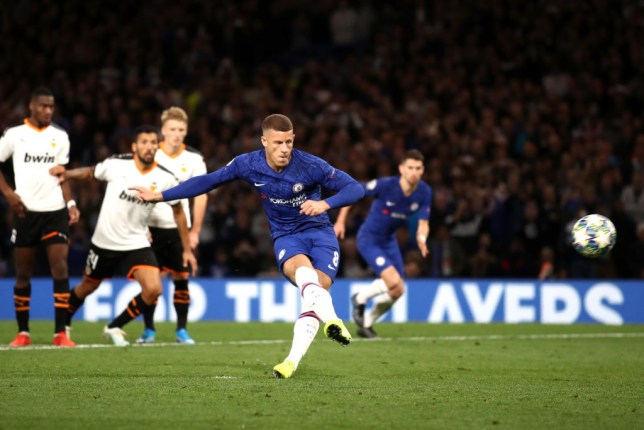 Ross Barkley reveals what Jorginho told him just before penalty miss