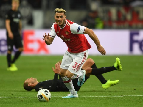 Unai Emery provides update after Sead Kolasinac is forced off against Eintracht Frankfurt
