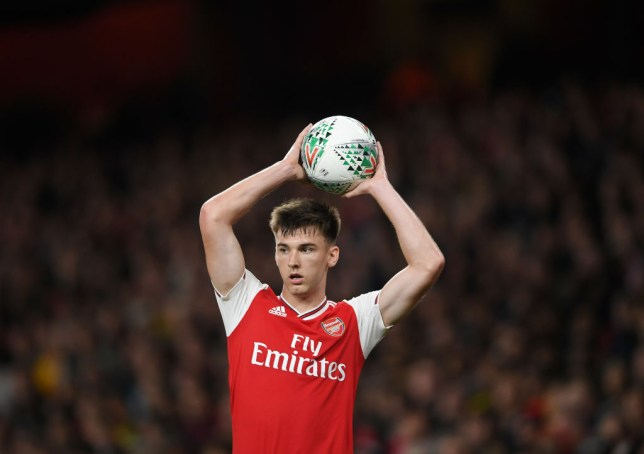 Kieran Tierney impressed on his Arsenal debut against Nottingham Forest