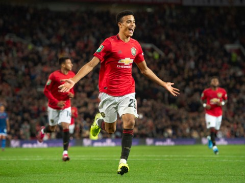 Manchester United star Victor Lindelof blown away by Mason Greenwood's finishing with both feet