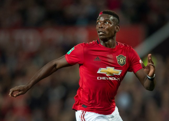 Paul Pogba has struggled for form - and currently fitness - at Manchester United