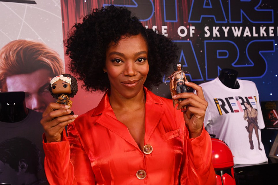 Naomi Ackie at Triple Force Friday