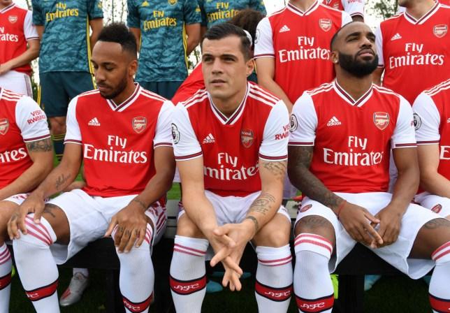 Pierre-Emerick Aubameyang explains why Arsenal players picked Granit Xhaka as captain