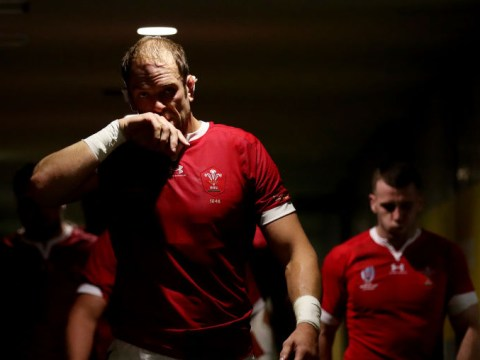 Alun Wyn Jones reveals half-time warning to Wales teammates in dressing room