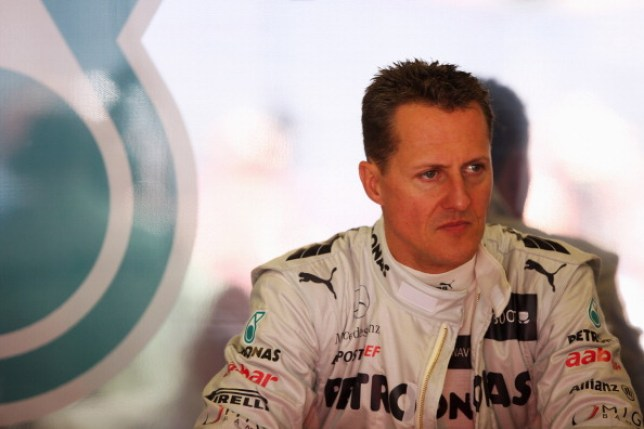 Michael Schumacher during the Spanish Formula One Grand Prix
