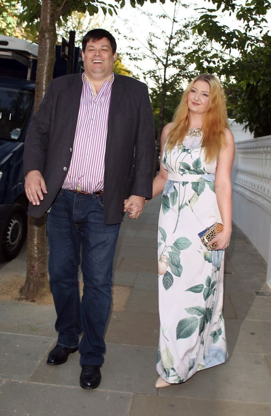 Mark Labbett and wife Katie