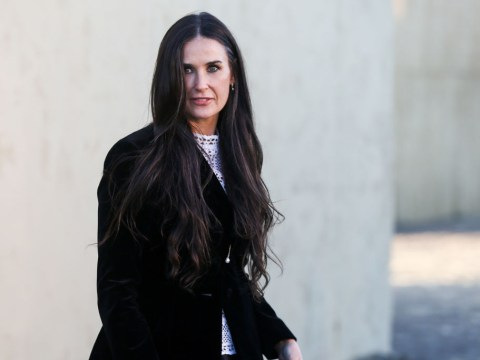 Demi Moore found out Ashton Kutcher cheated on her through a Google Alert