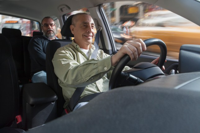 You can get a free taxi ride if you're reunited with a driver you've met before
