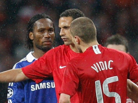 Nemanja Vidic discusses the time Chelsea legend Didier Drogba wanted to punch him
