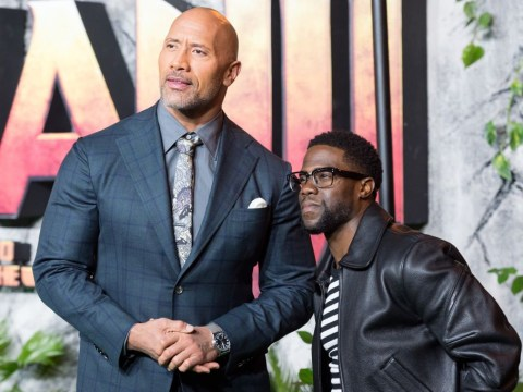 Dwayne Johnson insists Kevin Hart is a 'lucky man' as he claims horror crash 'could have been a lot worse'