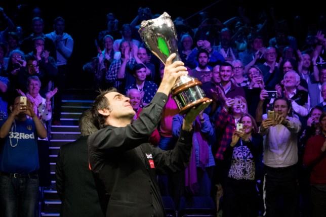 Ronnie O'Sullivan wins the UK Championship in 2018