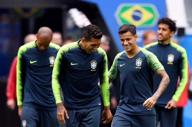 Liverpool star Roberto Firmino passed his wisdom on to Phlippe Coutinho before his move from Barcelona to Bayern Munich