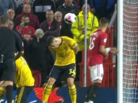Granit Xhaka slammed for 'ducking' Scott McTominay's shot for Manchester United's goal against Arsenal