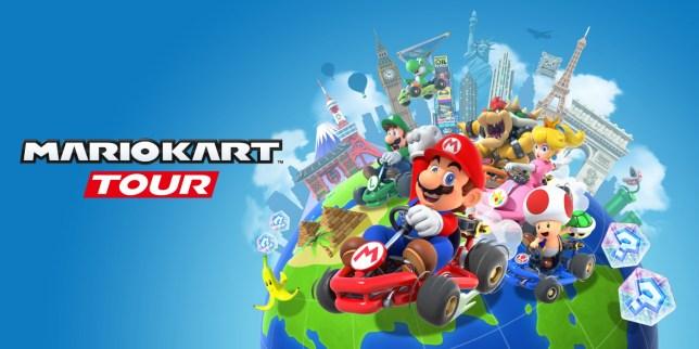 Mario Kart Tour key art