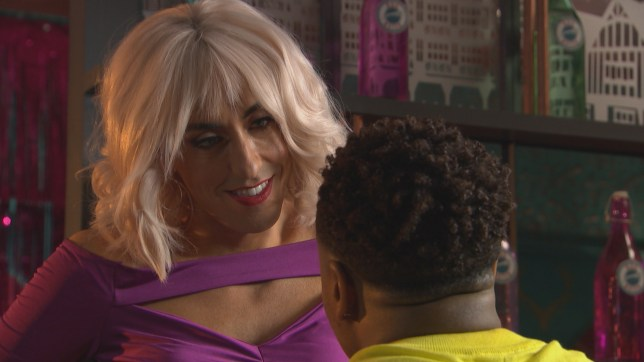 Scott and Mitchell get close in Hollyoaks