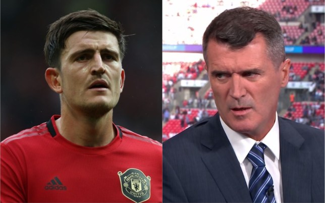 Roy Keane has raised two concerns with Harry Maguire at Manchester United