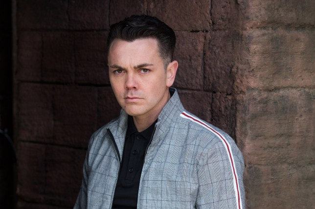 Ray Quinn in Hollyoaks