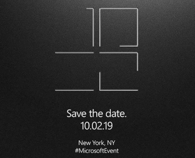 Microsoft is holding an event in New York to reveal new gadgets (Microsoft)