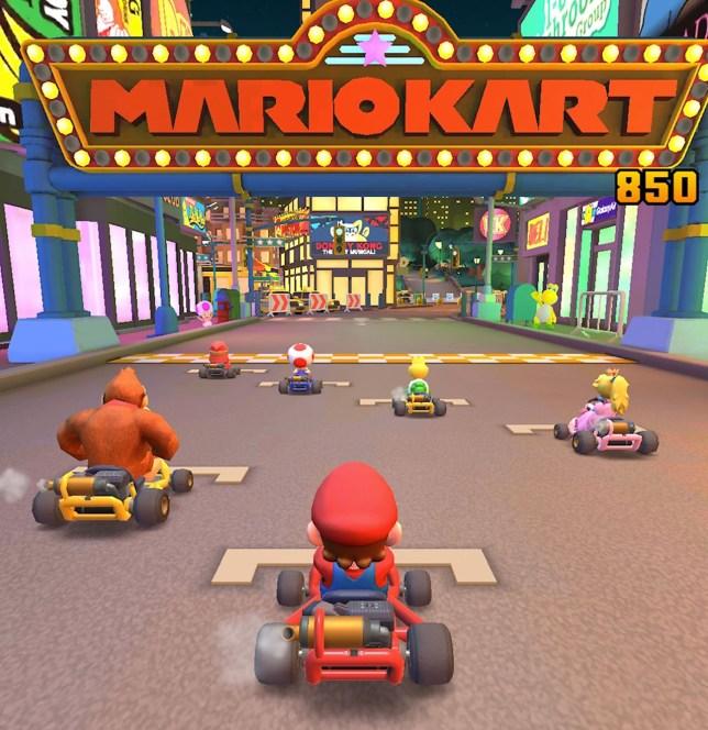 Hasil gambar untuk Mario Kart
