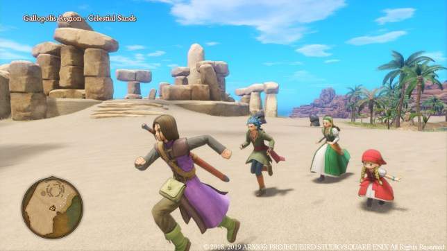 Dragon Quest XI S screenshot