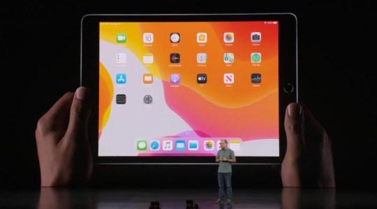 The new iPad 7th generation has a 10.2-inch Retina Display (Apple)