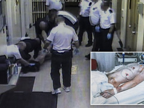 Prison officers 'laugh' on CCTV as naked inmate is 'tortured' days before death