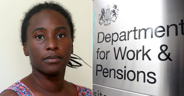 Mum Kirsty Minott, 31, from Bedlington, Northumberland, who was left with just £2.60 for two weeks because of a Department for Work and Pensions (DWP) benefits 'error'