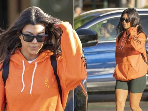 Kourtney Kardashian scores major mum points on casual cinema trip with the kids