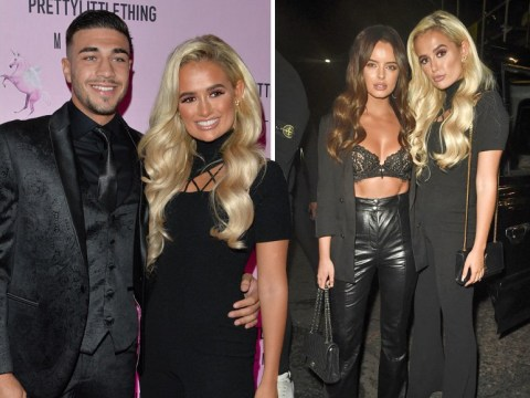 Molly-Mae Hague's lavish PrettyLittleThing launch brought Love Island girls out in force, a set from Giggs and serious dance-offs