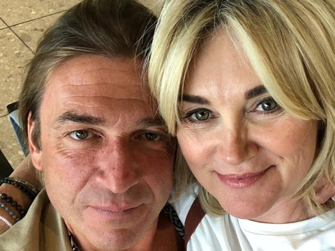 Anthea Turner met her fiancé Mark Armstrong just seven weeks ago on a blind date set up by Lizzie Cundy