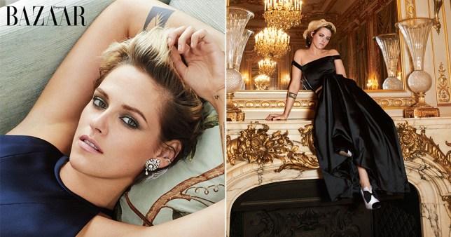 Kristen Stewart Harper's Bazaar shoot