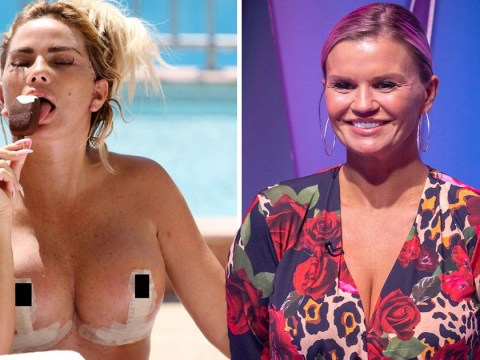 Kerry Katona worried friend Katie Price has 'crossed the line' with latest surgery