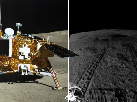 China's lunar rover found something strange on the far side of the moon