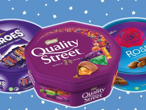 Tubs of Quality Street, Rose and Heroes are getting smaller again